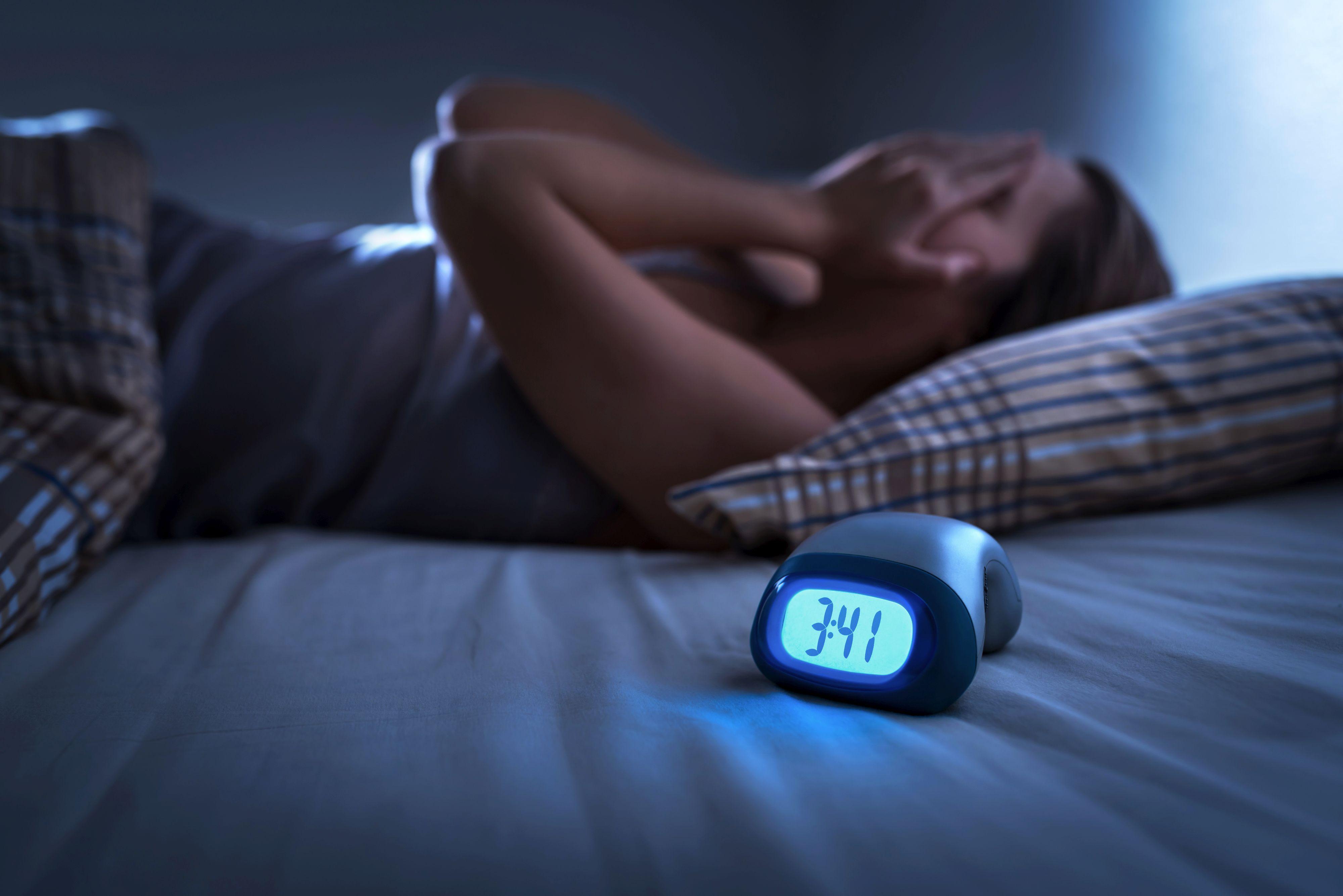 Experiencing insomnia