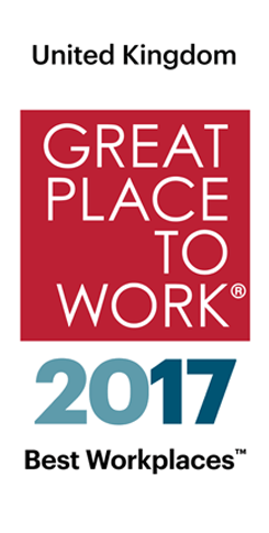 Great Places to Work 2017 logo