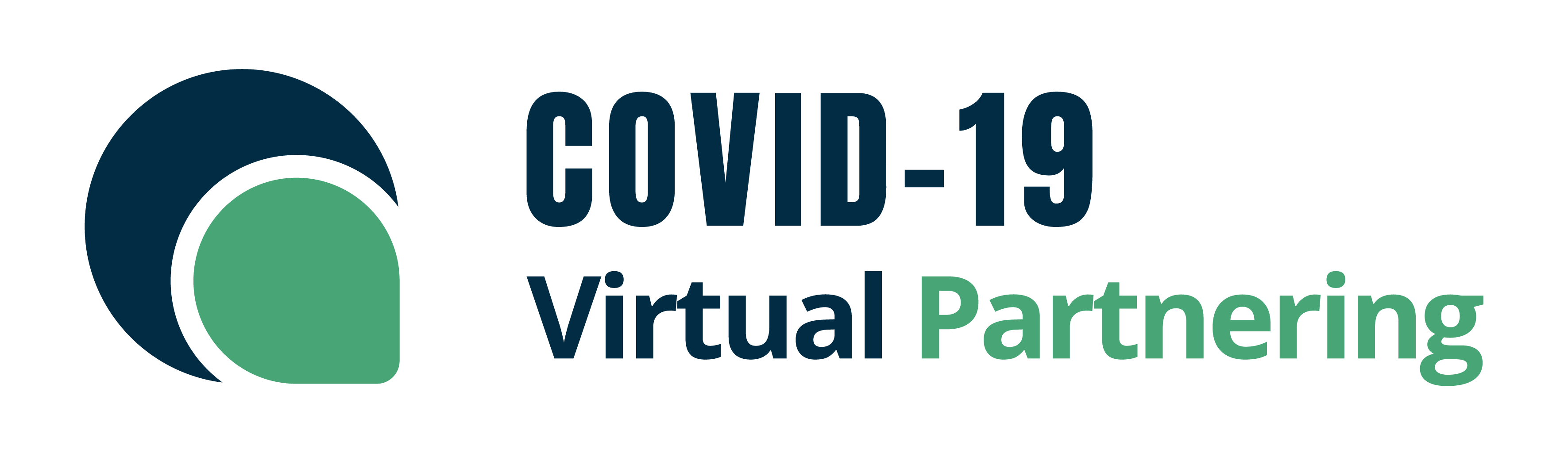COVID19 Virtual Partnering Logo Simple