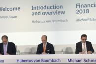 Boehringer C-suite at 2019 press conference