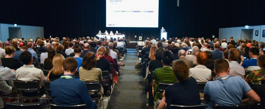Attendees at one of the sessions of Esmo 2019