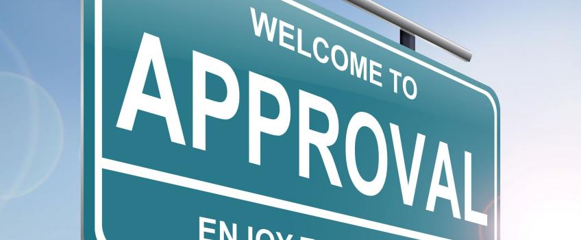 Approval sign