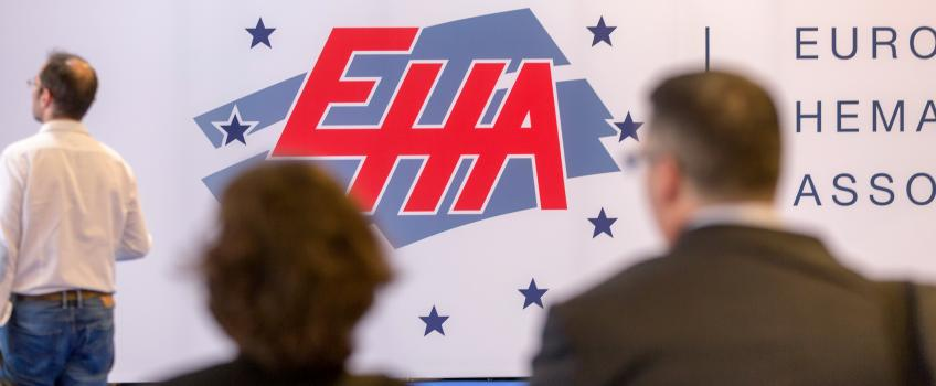 Congress photo showing the EHA logo