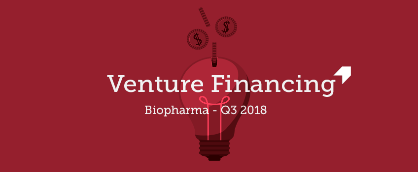 Q3 2018 biopharma venture capital data